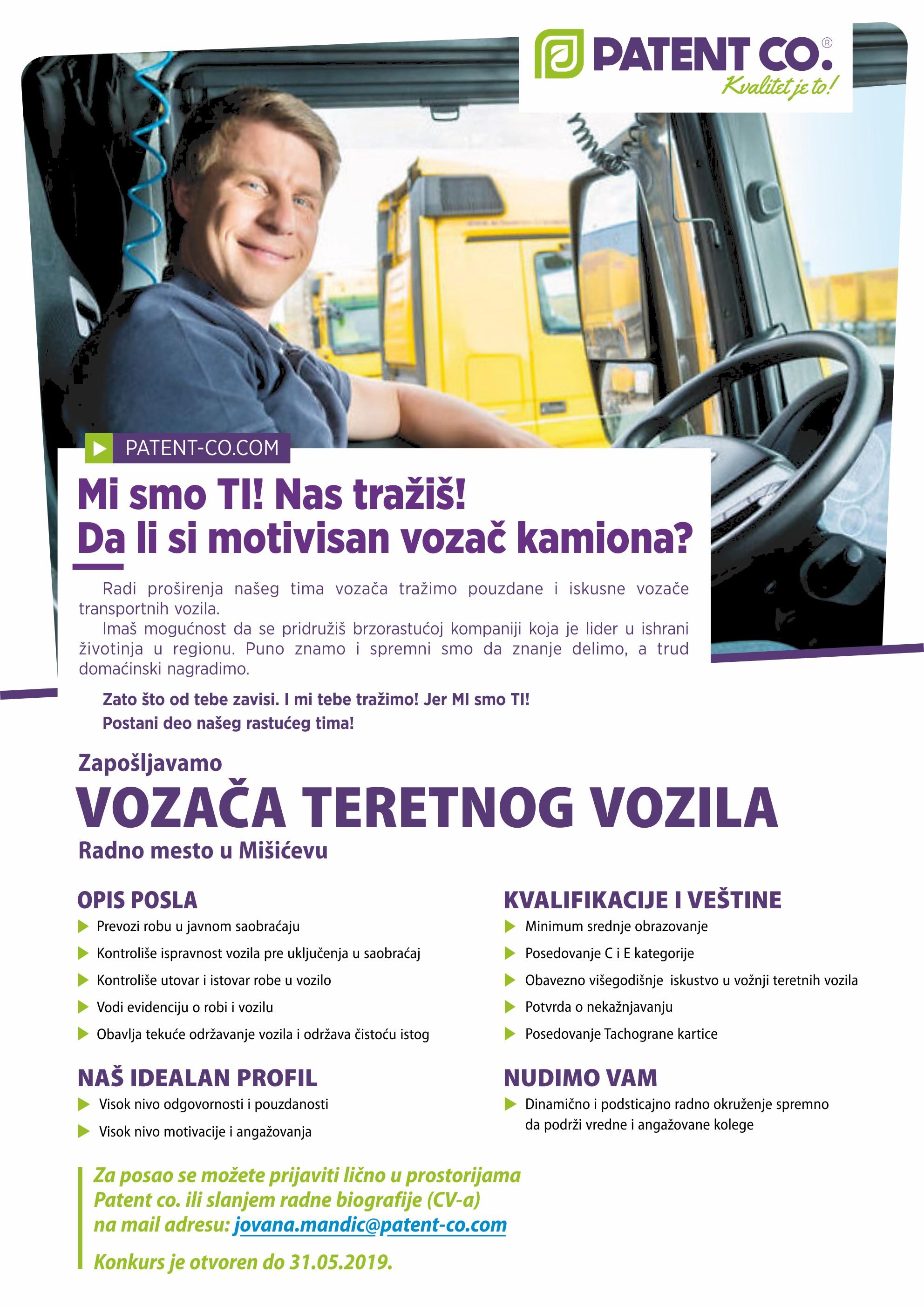 Vozač teretnog vozila
