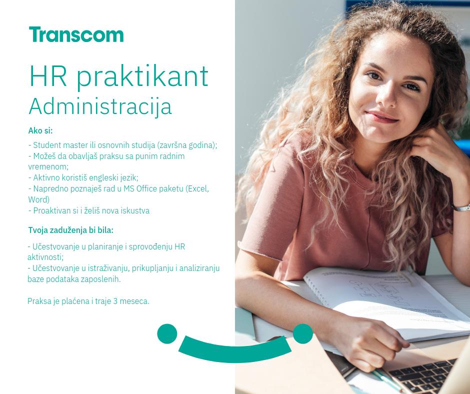 HR praktikant administracija