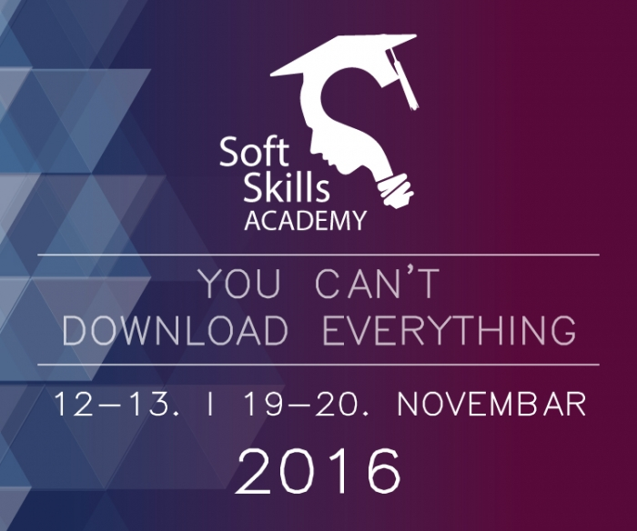 """""""Soft Skills Academy – You can't download everything"""""""