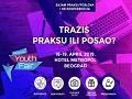 "Sajam zapošljavanja ""Belgrade Youth Fair"" u hotelu ""Metropol"""