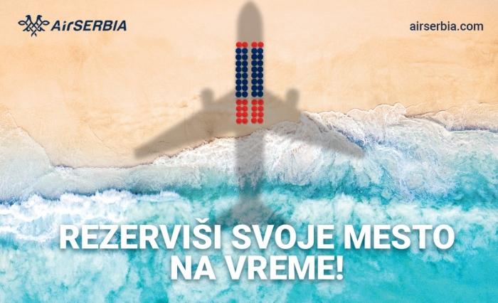 Nove destinacije Er Srbije na Sajmu turizma