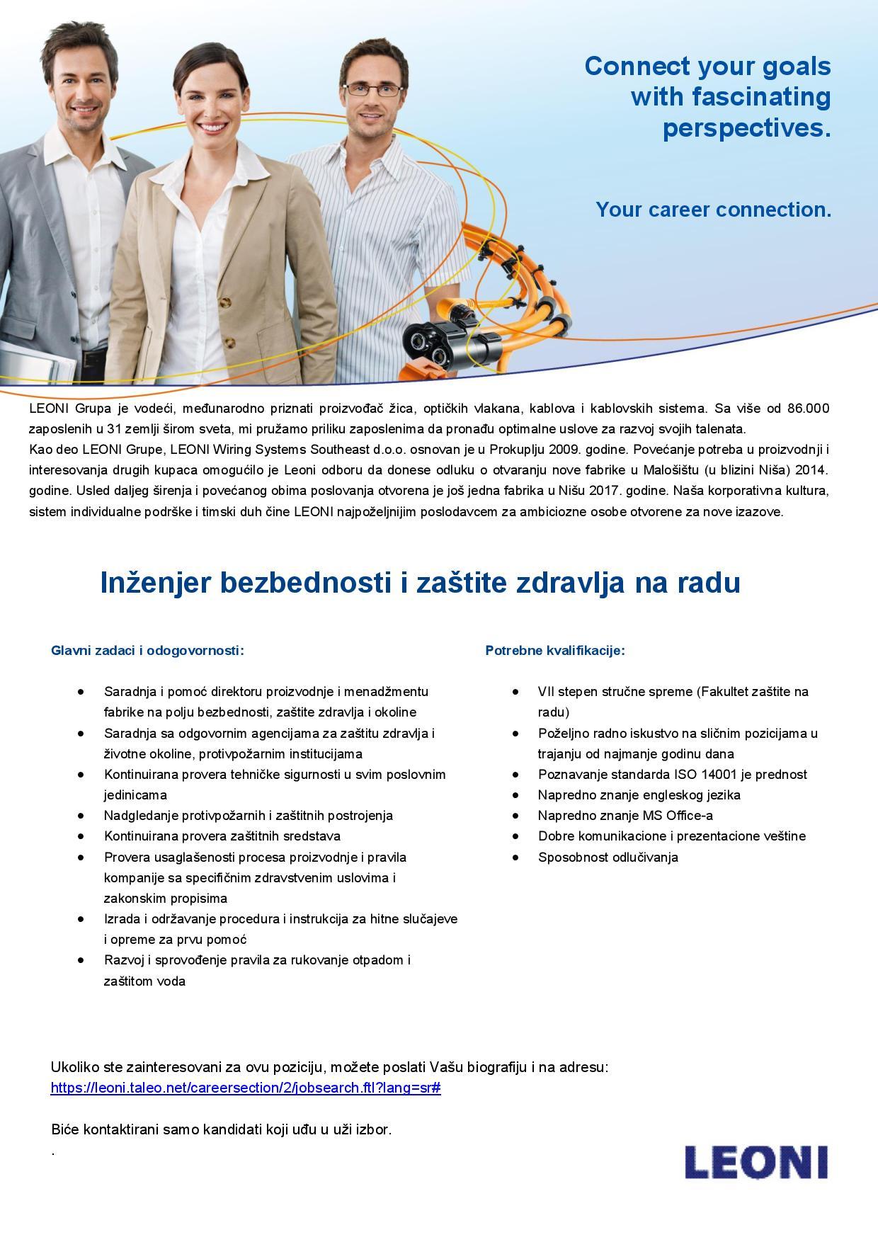 Inženjer bezbednosti i zaštite zdravlja na radu