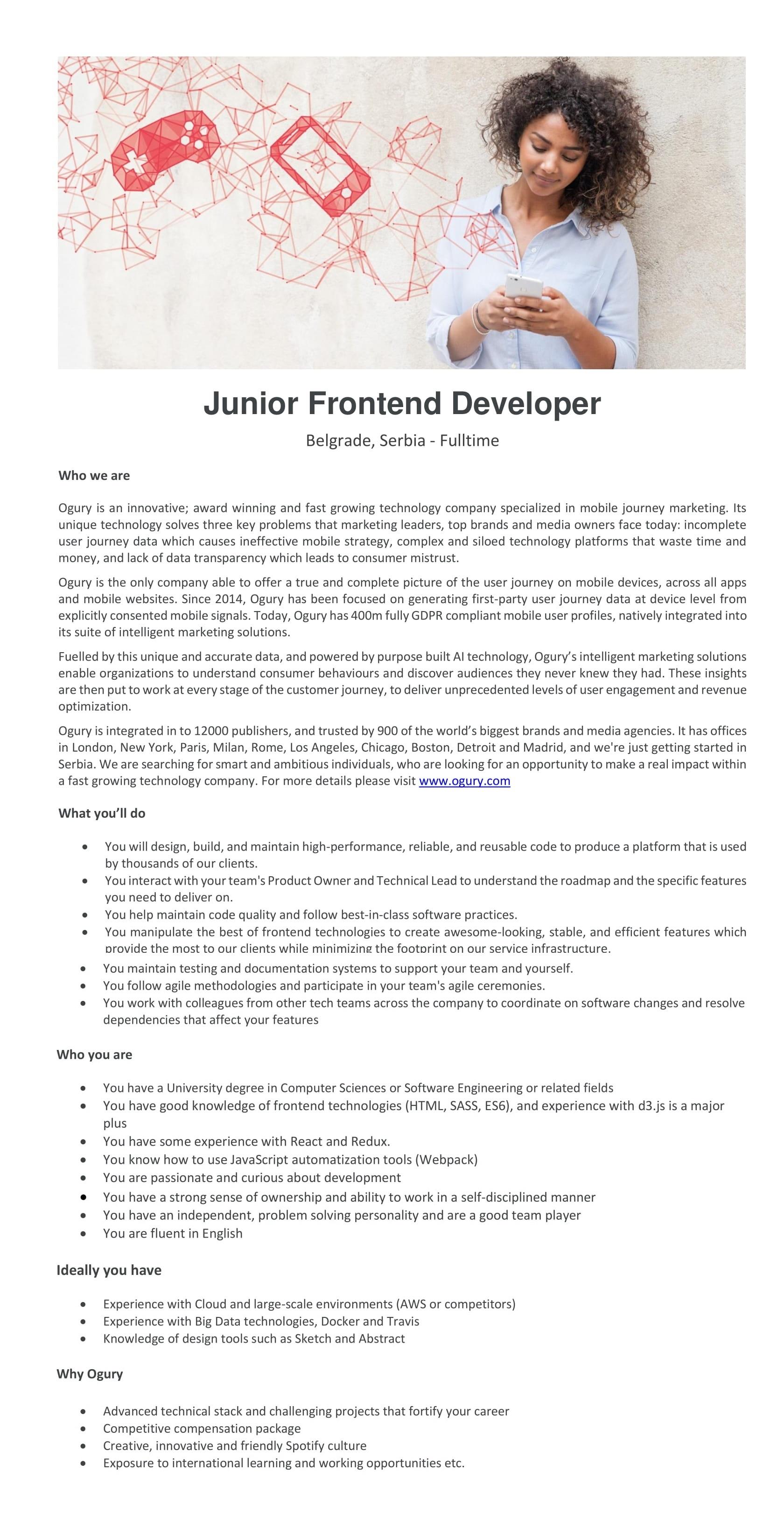 Junior Fronted Developer